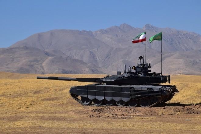 Iran trình làng xe tăng tự chế giống hệt T-90MS Nga ảnh 6