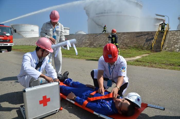 Nhà máy Lọc dầu Dung Quất đạt 10 triệu giờ công an toàn ảnh 1
