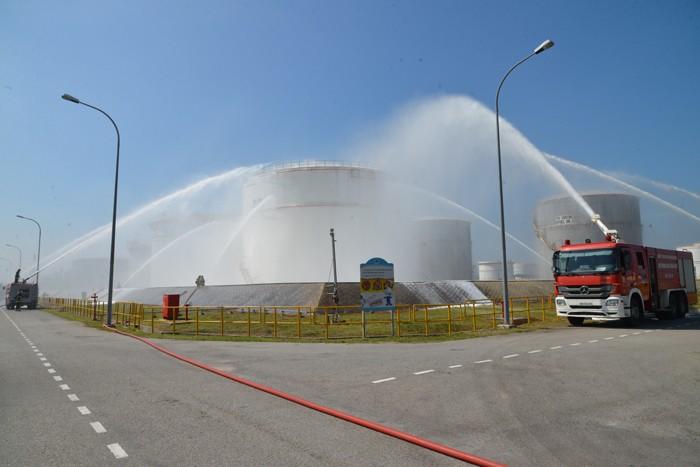 Nhà máy Lọc dầu Dung Quất đạt 10 triệu giờ công an toàn ảnh 2