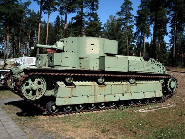 Mẫu xe tăng 5 tháp pháo độc đáo của Liên Xô ảnh 2