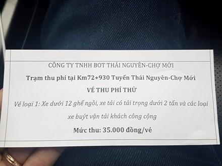 Thái Nguyên: Trạm thu phí BOT chưa hoạt động, dân đã rầm rầm phản đối ảnh 2