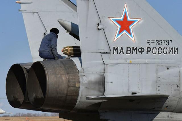 """""""Sát thủ đánh chặn"""" MiG-31 của Nga tập trận ở Viễn Đông ảnh 2"""