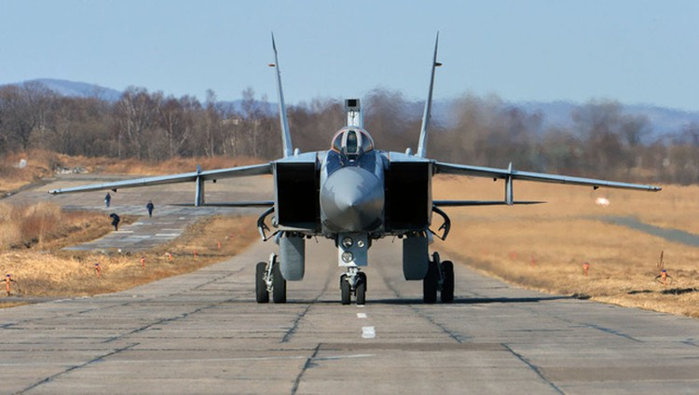 """""""Sát thủ đánh chặn"""" MiG-31 của Nga tập trận ở Viễn Đông ảnh 6"""