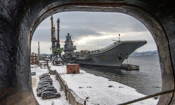 Tàu sân bay Nga ngốn hơn một tỷ USD bảo dưỡng ảnh 1