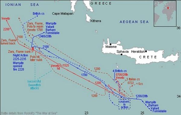 Trận hải chiến nhấn chìm tham vọng bá chủ Địa Trung Hải của Italy ảnh 1
