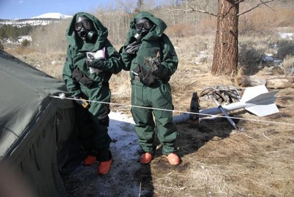 Kho vũ khí hóa học Triều Tiên gây lo ngại cho Mỹ ảnh 2