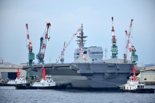 Lễ biên chế chiến hạm lớn nhất Nhật từ sau Thế chiến II ảnh 5