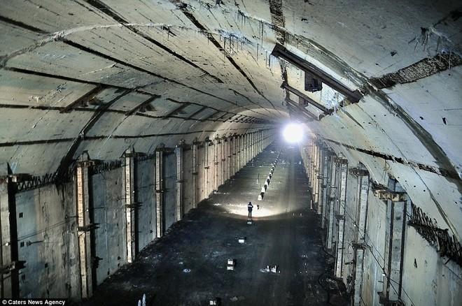Căn cứ tàu ngầm hạt nhân tối mật của Liên Xô thời Chiến tranh Lạnh ảnh 9