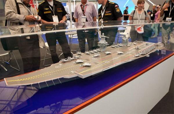 Công ty Nga nuôi tham vọng đóng tàu sân bay hạt nhân khổng lồ ảnh 1