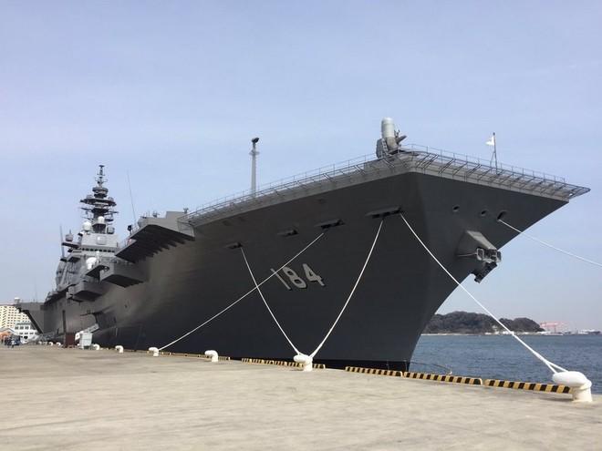 Bên trong tàu sân bay trực thăng lớn nhất của Nhật ảnh 1