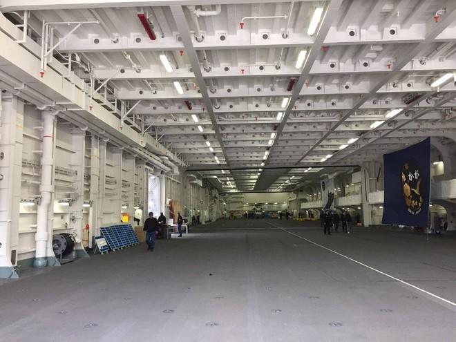 Bên trong tàu sân bay trực thăng lớn nhất của Nhật ảnh 2