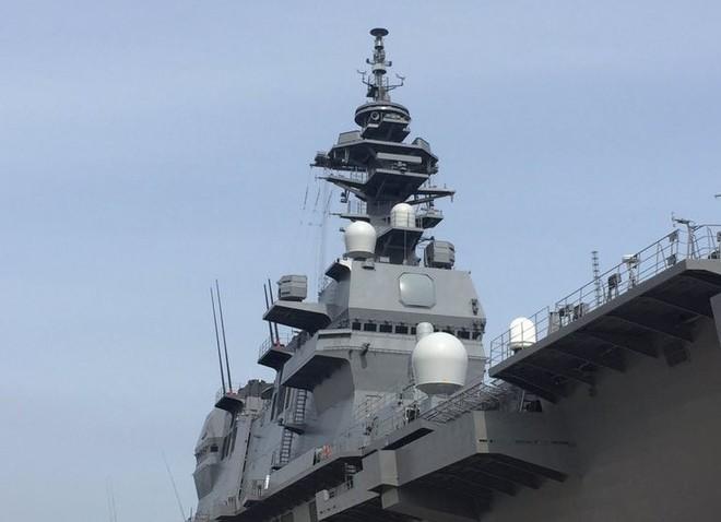 Bên trong tàu sân bay trực thăng lớn nhất của Nhật ảnh 6
