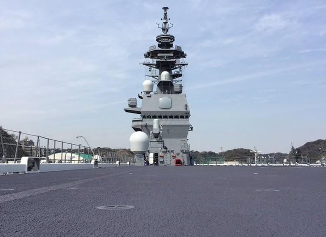 Bên trong tàu sân bay trực thăng lớn nhất của Nhật ảnh 8
