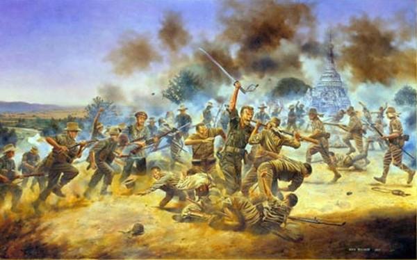 Trung úy Anh bị chém cụt tay vẫn đẩy lùi lính phát xít Nhật ảnh 3