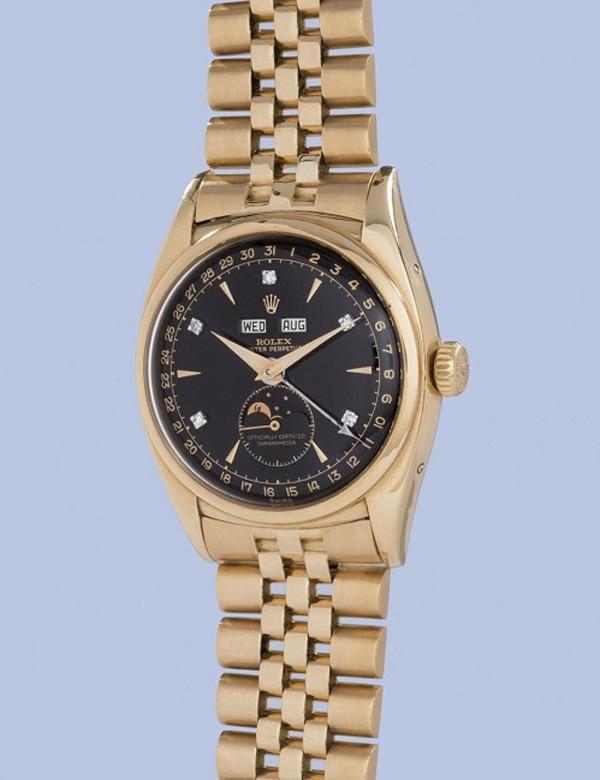 Đồng hồ Rolex 1,5 triệu USD của vua Bảo Đại được đấu giá ảnh 1