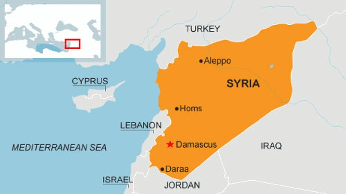 Quân đội Syria lần đầu tiên bắn cháy xe tăng phiến quân ảnh 1