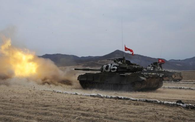 Thiết giáp Triều Tiên so tài tại giải đấu tăng nội địa ảnh 6
