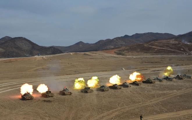 Thiết giáp Triều Tiên so tài tại giải đấu tăng nội địa ảnh 8