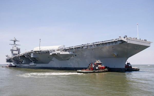 Siêu tàu sân bay đắt nhất lịch sử Mỹ sắp ra khơi thử nghiệm ảnh 1