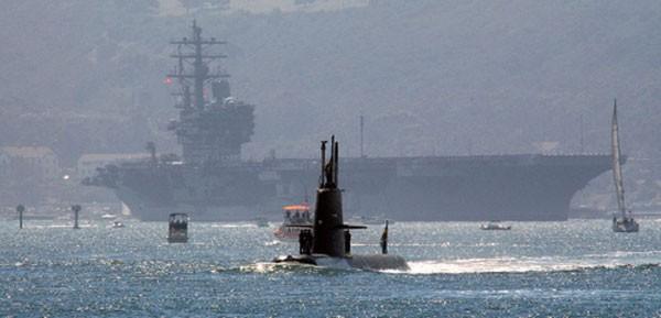 Chiếc tàu ngầm khiến cả biên đội tàu sân bay Mỹ bất lực ảnh 1