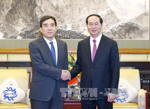 Các hoạt động của Chủ tịch nước tại Trung Quốc ảnh 1