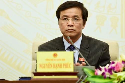 Tổng thư ký Quốc hội: Ông Võ Kim Cự thôi đại biểu vì lý do sức khoẻ ảnh 1