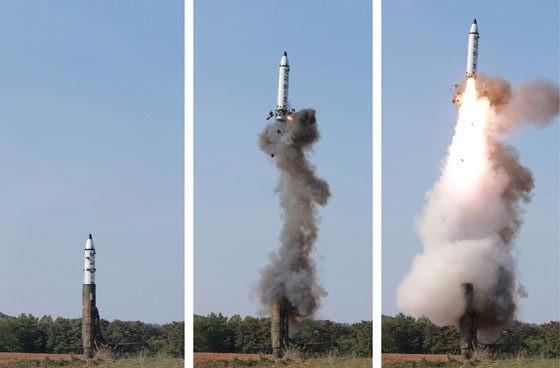 Triều Tiên công bố ảnh chụp trái đất từ camera gắn trên tên lửa ảnh 1