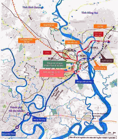 2.100 tỷ kéo dài tuyến metro của TP HCM đến Bình Dương, Đồng Nai ảnh 1