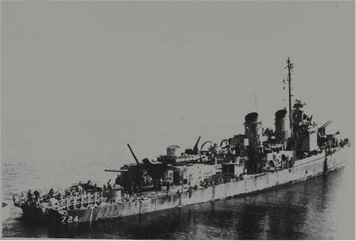 Tàu chiến Mỹ trụ vững trước đòn tự sát của 6 máy bay Nhật ảnh 1