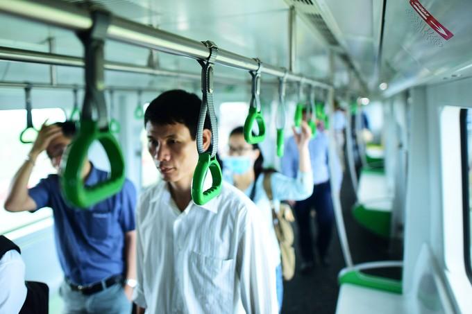 Bên trong đoàn tàu Cát Linh - Hà Đông ảnh 5