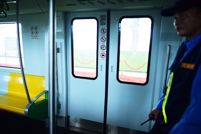 Bên trong đoàn tàu Cát Linh - Hà Đông ảnh 8