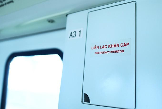 Bên trong đoàn tàu Cát Linh - Hà Đông ảnh 11