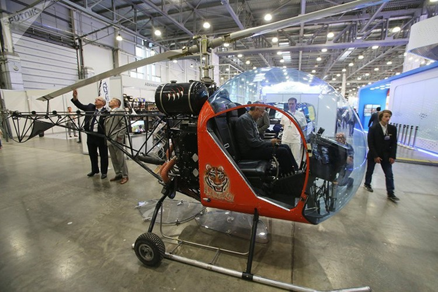 Trực thăng hai chỗ ngồi Safari-400