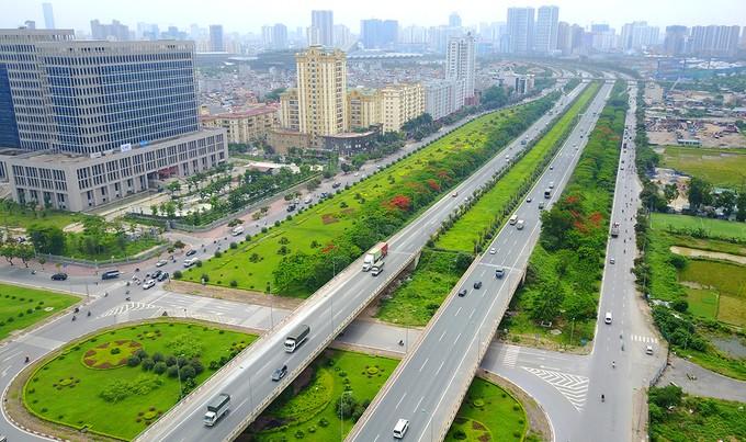 Năm tuyến đường hơn tỷ USD hiện đại nhất Thủ đô ảnh 1