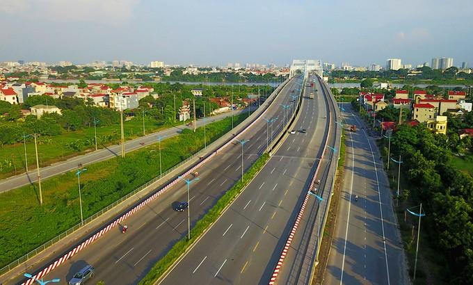 Năm tuyến đường hơn tỷ USD hiện đại nhất Thủ đô ảnh 11