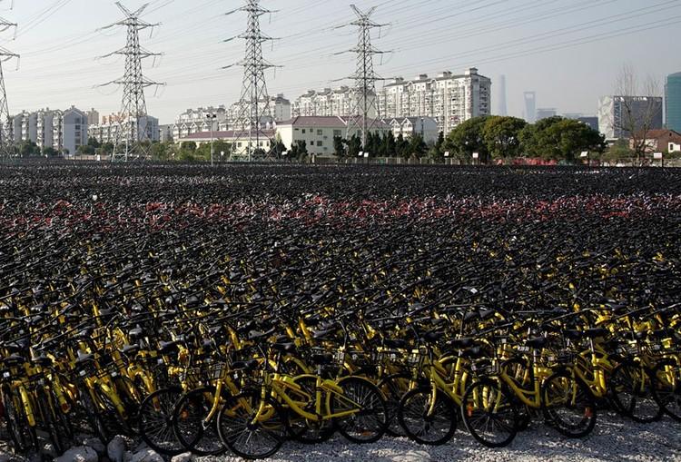 """Những """"nghĩa trang"""" xe đạp khổng lồ ở Trung Quốc ảnh 19"""