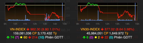 VN-Index giảm phiên thứ tư liên tiếp ảnh 1