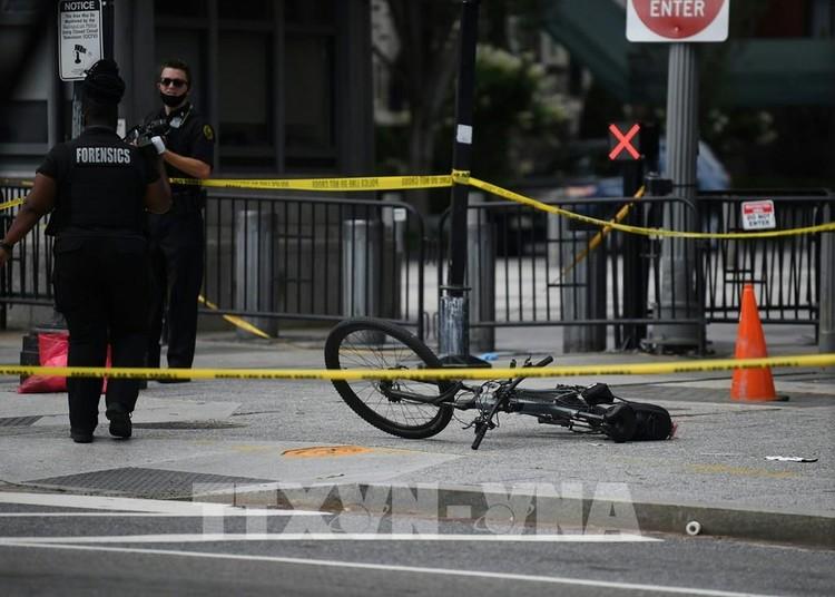 Mỹ: Nổ súng ngay bên ngoài Nhà Trắng khi Tổng thống Trump đang họp báo ảnh 2