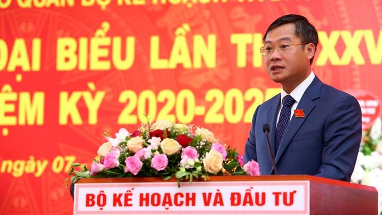 Khai mạc Đại hội đại biểu Đảng bộ Bộ KH&ĐT nhiệm kỳ 2020 - 2025: Chủ động, đổi mới sáng tạo ảnh 2