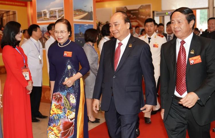 Chùm ảnh: Thủ tướng Nguyễn Xuân Phúc dự Đại hội Đảng bộ TP. Hải Phòng ảnh 1