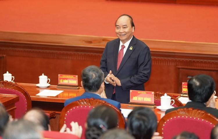 Chùm ảnh: Thủ tướng Nguyễn Xuân Phúc dự Đại hội Đảng bộ TP. Hải Phòng ảnh 3