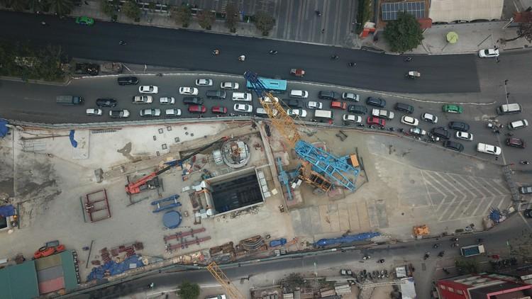Robot đào hầm của tuyến đường sắt đô thị số 3, đoạn Nhổn - ga Hà Nội được lắp ráp như thế nào? ảnh 1