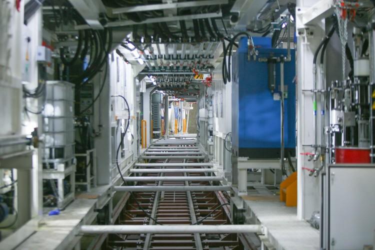 Robot đào hầm của tuyến đường sắt đô thị số 3, đoạn Nhổn - ga Hà Nội được lắp ráp như thế nào? ảnh 9