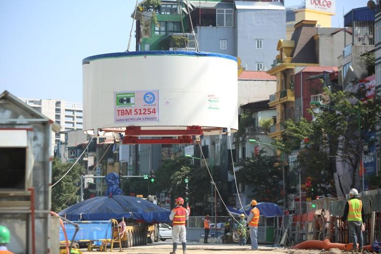 Robot đào hầm của tuyến đường sắt đô thị số 3, đoạn Nhổn - ga Hà Nội được lắp ráp như thế nào? ảnh 2