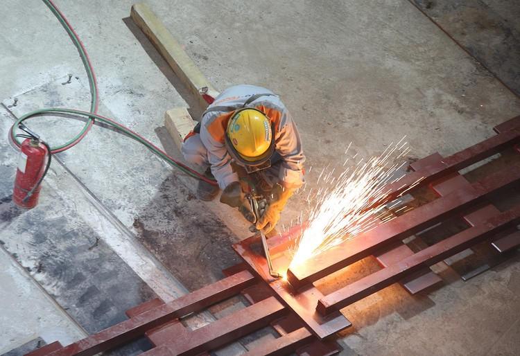 Robot đào hầm của tuyến đường sắt đô thị số 3, đoạn Nhổn - ga Hà Nội được lắp ráp như thế nào? ảnh 3