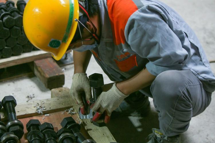 Robot đào hầm của tuyến đường sắt đô thị số 3, đoạn Nhổn - ga Hà Nội được lắp ráp như thế nào? ảnh 6