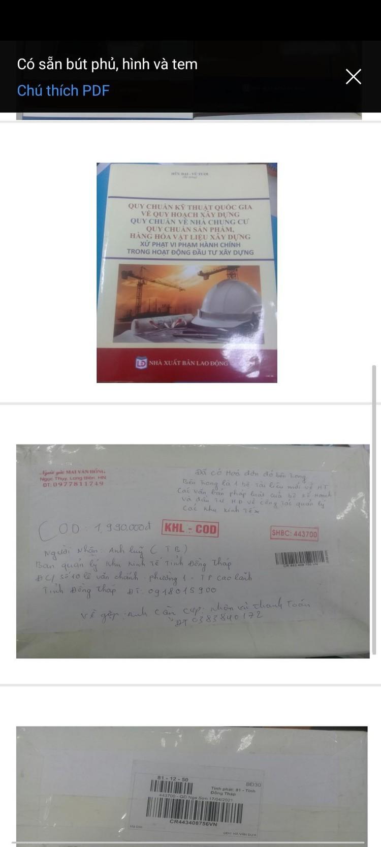 Mạo danh Cục Quản lý đấu thầu để bán sách ảnh 1