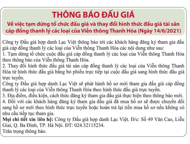 Ngày 21/6/2021, đấu giá cáp đồng thanh lý các loại tại Hà Nội ảnh 2