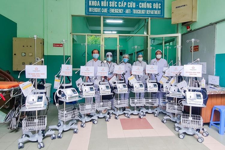 Tập đoàn Hưng Thịnh hỗ trợ khẩn hàng chục tỷ đồng cho TP.HCM chống dịch Covid-19 ảnh 1