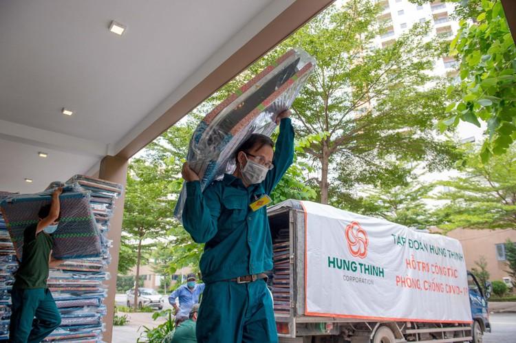 Tập đoàn Hưng Thịnh hỗ trợ khẩn hàng chục tỷ đồng cho TP.HCM chống dịch Covid-19 ảnh 5